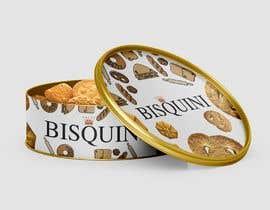 #3 untuk Retro design of Danish Butter cookie in round  tin oleh almaktoom