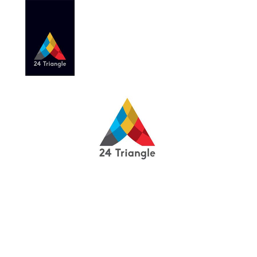 """Inscrição nº 1367 do Concurso para Create a logo for """"24 Triangle"""""""