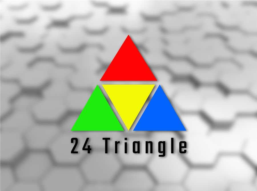 """Inscrição nº 1181 do Concurso para Create a logo for """"24 Triangle"""""""