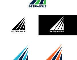 "#1117 for Create a logo for ""24 Triangle"" af mihonsheikh03"