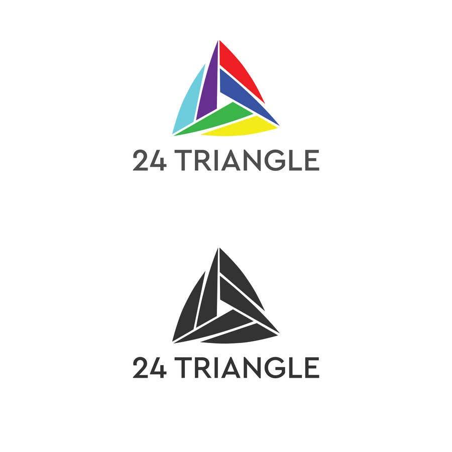 """Inscrição nº 1242 do Concurso para Create a logo for """"24 Triangle"""""""