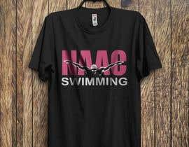 Nro 21 kilpailuun Swim Team TEe Shirt Design käyttäjältä dasn88423