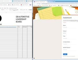 nº 16 pour Design me a leaderboard on Google sheets par ranashahed2000