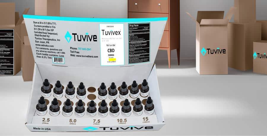Bài tham dự cuộc thi #158 cho Need a design for a product display box