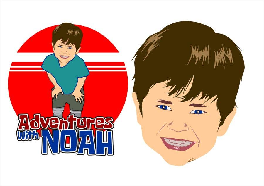 Contest Entry #34 for Caricature Logo