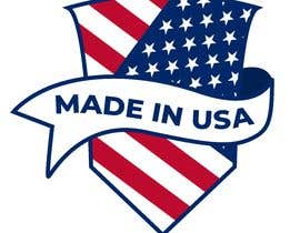 "#39 для Design Transparent Sticker for ""Made in USA"" product от itrabbi247"