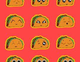 #30 cho Design a unique transparent taco sticker for a label bởi EmmanuelOchie