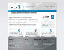#19 para Website Design for activIT systems por sunanda1956