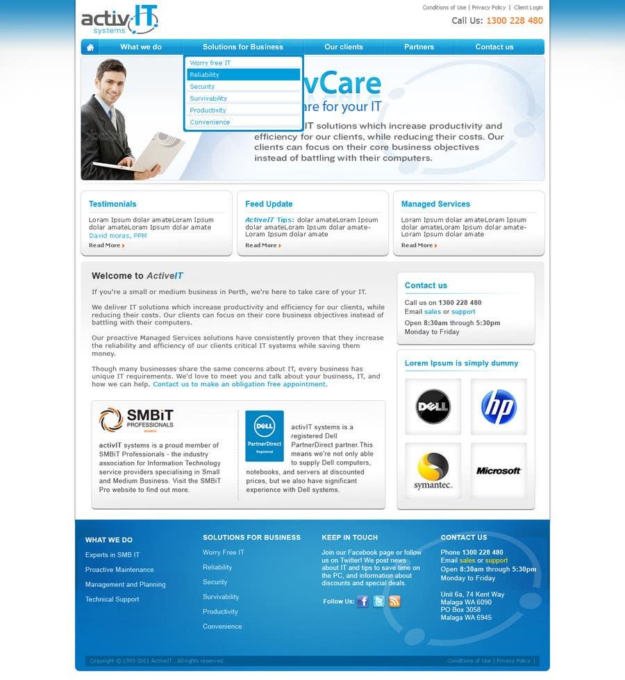 Inscrição nº                                         47                                      do Concurso para                                         Website Design for activIT systems