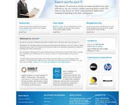 #45 dla Website Design for activIT systems przez designcobber221b