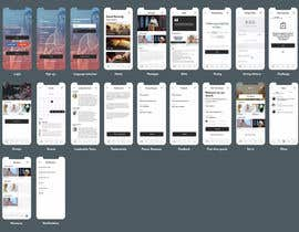 #40 for minimist trendy modern Redesign Mobile UX/UI Wireframes by Jasakib