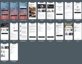#40 untuk minimist trendy modern Redesign Mobile UX/UI Wireframes oleh Jasakib