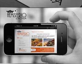 #35 para Design logo, banner and bussiness card for Hemisferio China de mariacastillo67