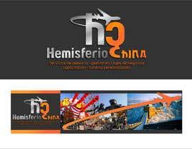 #33 para Design logo, banner and bussiness card for Hemisferio China de gberttixdb