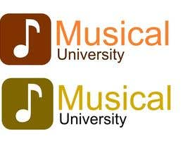 nº 30 pour Logo Design for Musical University par DoveSolutions