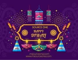 #40 for Design Diwali Greetings af littleboye7877