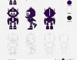 #56 для Design a robot avatar for our website от Genkat