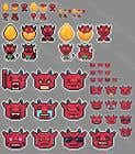 Graphic Design Entri Peraduan #11 for Pixel Art Twitch 10 icons and 5 badges