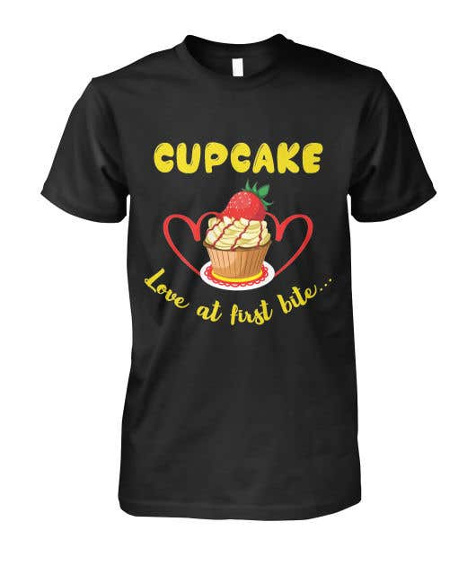 Contest Entry #72 for T-shirt designs for my cupcake shop!