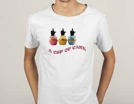 #75 for T-shirt designs for my cupcake shop! by cmtfarjana
