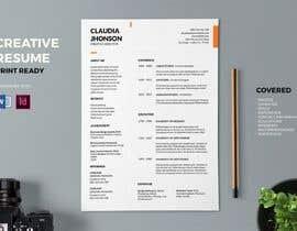 Nro 9 kilpailuun Design a CV (Resume) käyttäjältä WachidDz