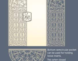 #13 cho Vectorize photograph of wooden doors for laser cut invitation pocket bởi saurov2012urov