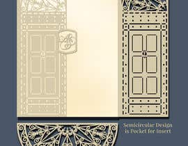 #15 cho Vectorize photograph of wooden doors for laser cut invitation pocket bởi saurov2012urov