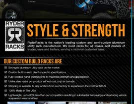 #9 for Design an Advertisement for RyderRacks af blackd51th