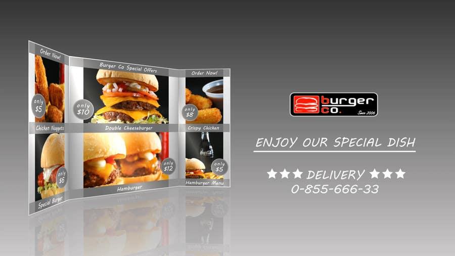 Bài tham dự cuộc thi #                                        4                                      cho                                         Design an Advertisement for a Burger Restaurant