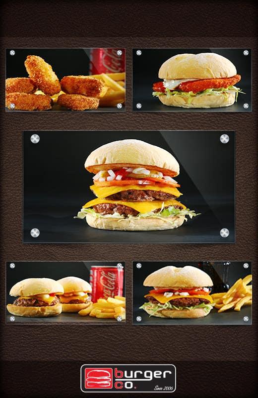 Bài tham dự cuộc thi #                                        12                                      cho                                         Design an Advertisement for a Burger Restaurant