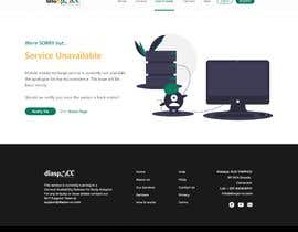 #16 untuk UX/UI Designer - Service unavailable page oleh ckrohith