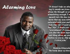 "#2 cho Flyer Design for (Author) Skakeim Edmonds, ""Alarming Love"" bởi Arttilla"
