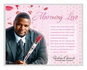"Contest Entry #4 for Flyer Design for (Author) Skakeim Edmonds, ""Alarming Love"""