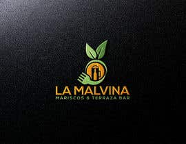 #61 for design me a logo with the name, la malvina mariscos & terraza bar by khinoorbagom545