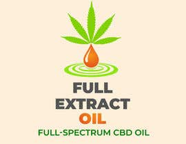 Nro 74 kilpailuun Logo for FULL EXTRACT OIL packaging käyttäjältä Rakibul0696