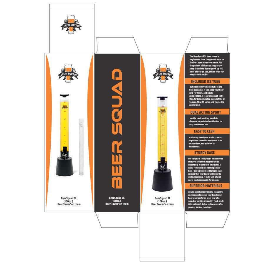 Конкурсная заявка №9 для Create a box design using supplied template for a Beer Company