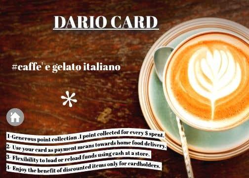 Penyertaan Peraduan #21 untuk Graphic design with written words for cafeteria reward points card