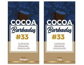#23 for drinking chocolate label af aatir2