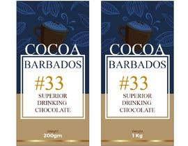 #34 for drinking chocolate label af aatir2