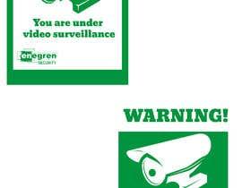 #15 untuk Need video surveillance decal designed. oleh Jithu600