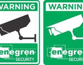 #8 untuk Need video surveillance decal designed. oleh boaleksic