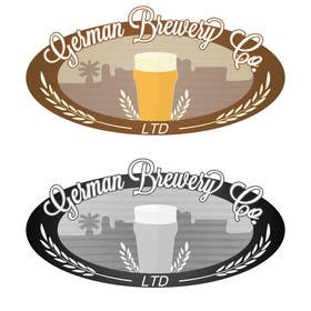 Graphic Design Contest Entry #3 for Logo for a German Brewery