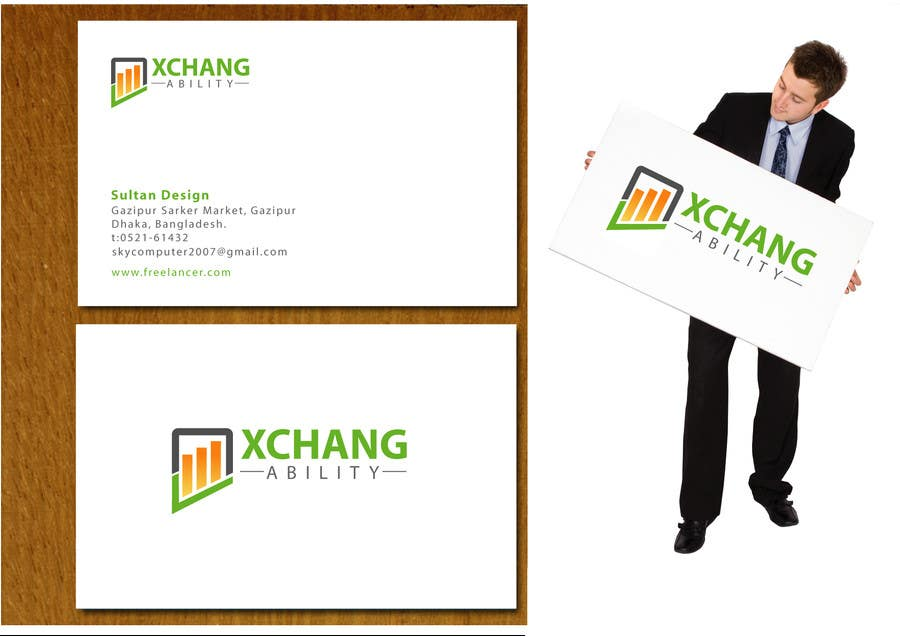 Penyertaan Peraduan #59 untuk Logo Design for XchangAbility