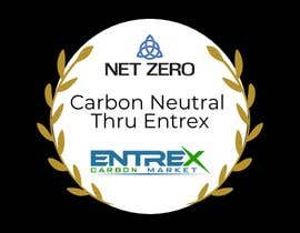 #1 para A logo/stamp/icon  for Carbon Neutral companies por manasKhandelwal