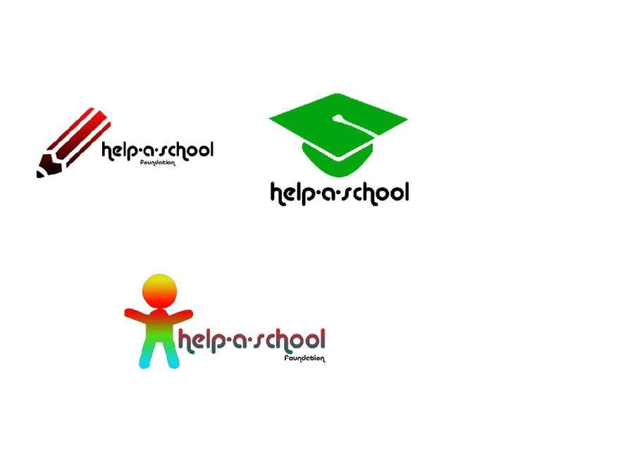 Konkurrenceindlæg #                                        23                                      for                                         Design 3 Logos for Help-A-School Foundation