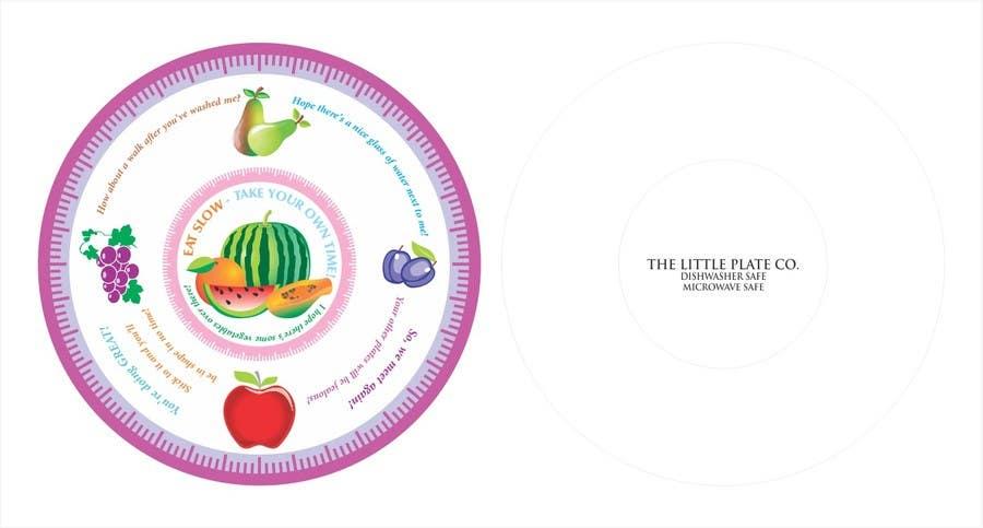 Inscrição nº 73 do Concurso para Graphic Design for china plate (front & back)