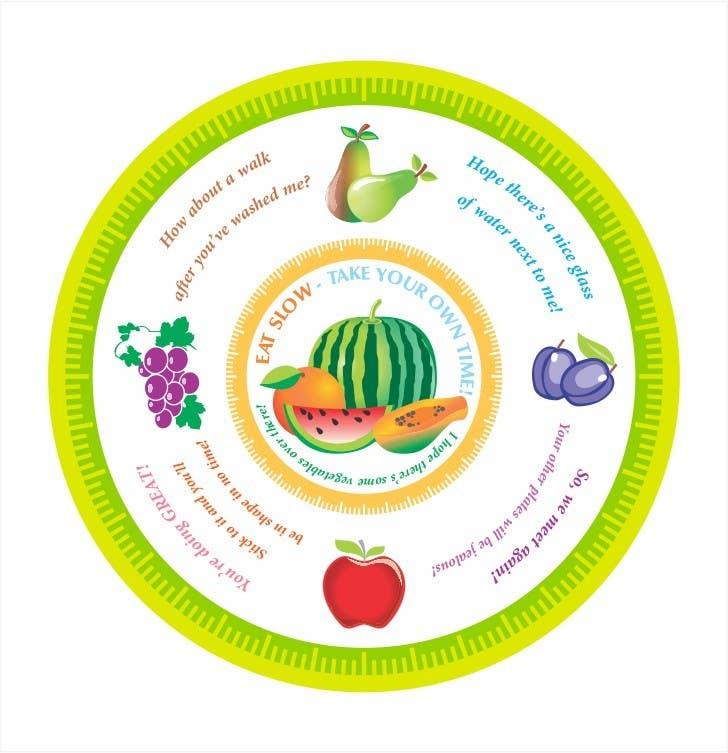 Inscrição nº 74 do Concurso para Graphic Design for china plate (front & back)