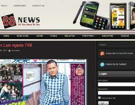#49 untuk Logo + Header Backgroun Design for 88news oleh thetouch