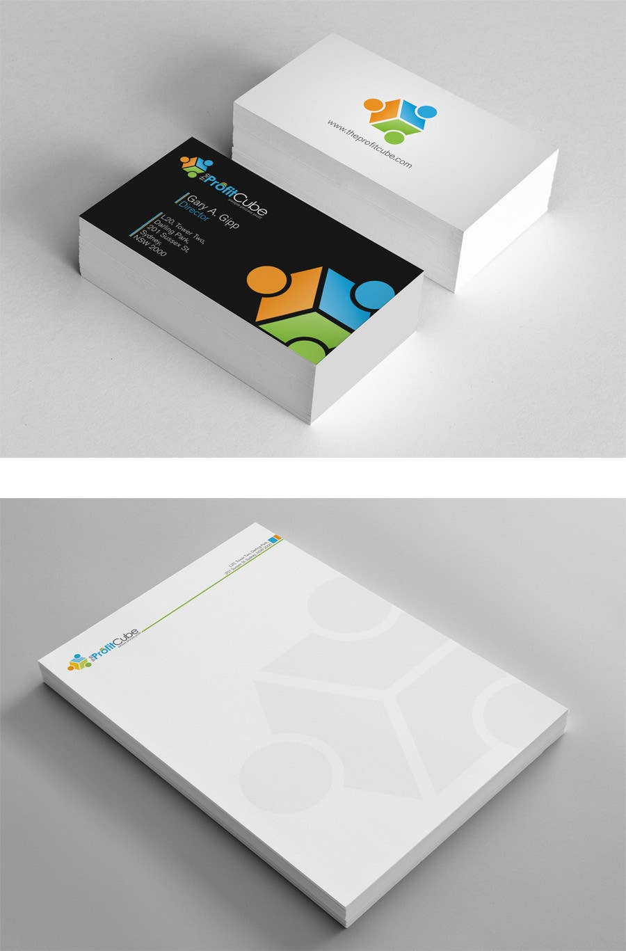 Entry #4 by midget for Business Card and letterhead Design for The ...