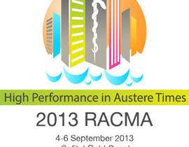 nº 13 pour Logo Design for RACMA 2013 par sergiovc